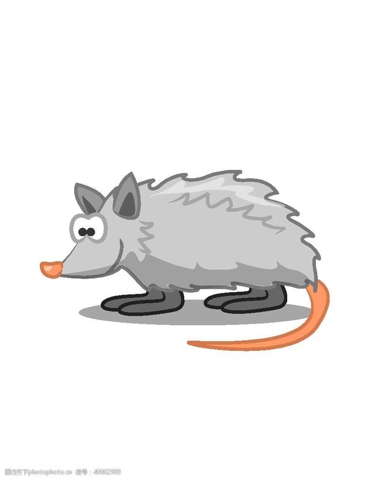 老鼠卡通手绘卡通老鼠图片