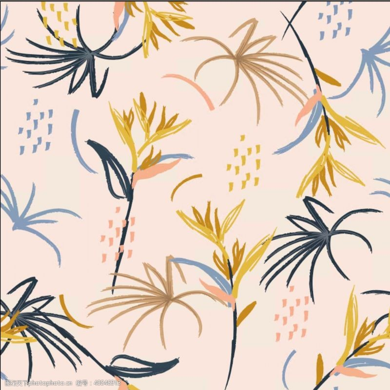 植物边框花卉图片