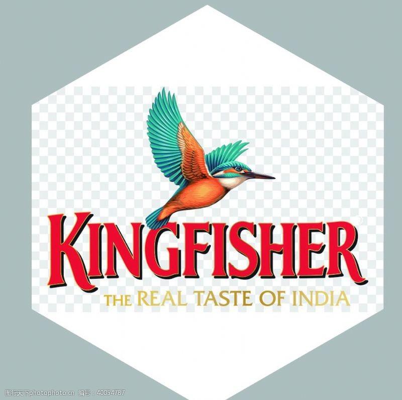 酒标经典翠鸟啤酒logo图片