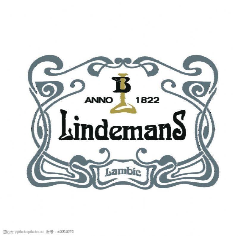 酒标林德曼标志图片