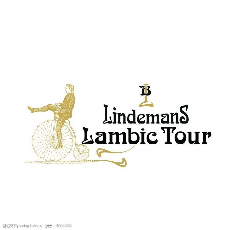 酒标林德曼经典logo图片