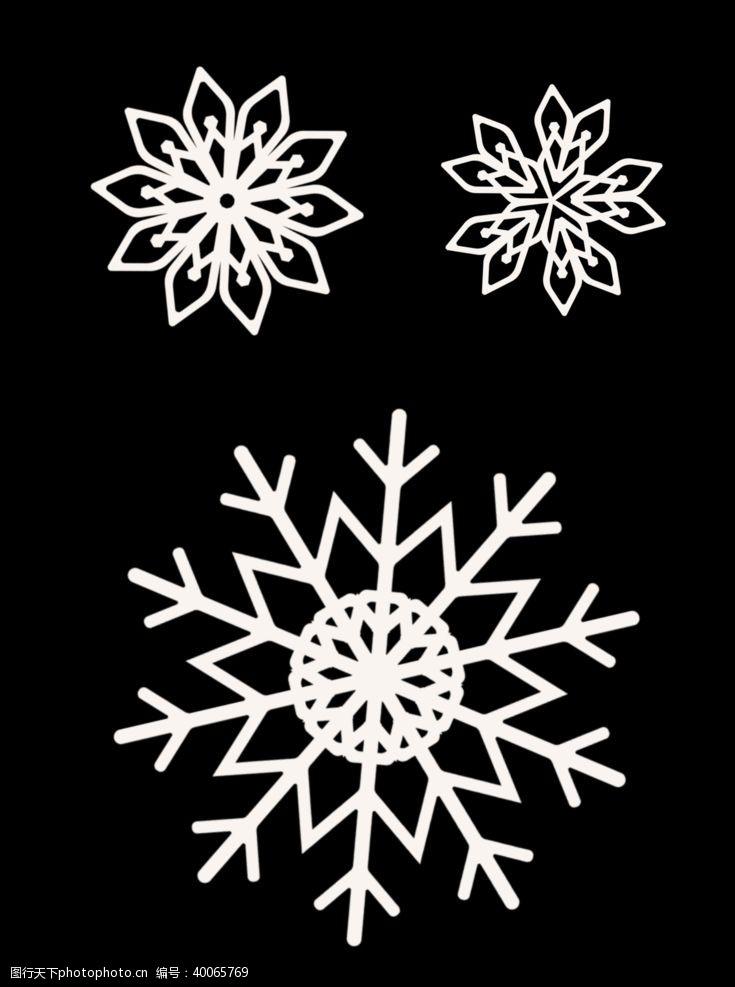 其他图标圣诞雪花图片