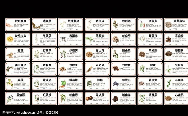 中医海报中医标签图片