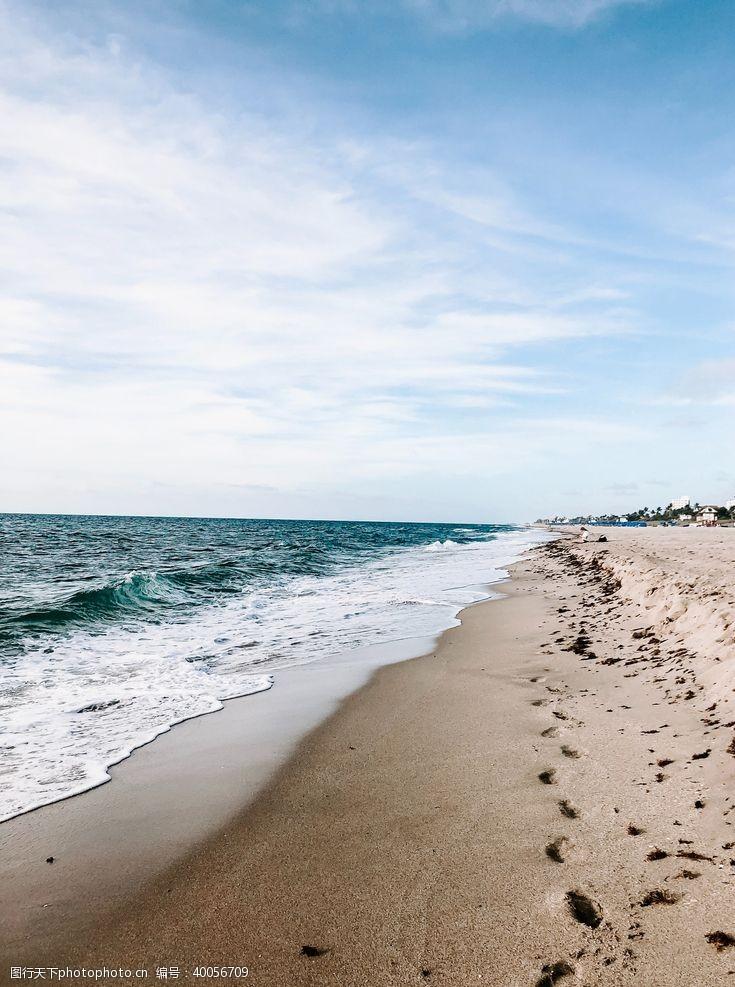 冲浪海岸图片