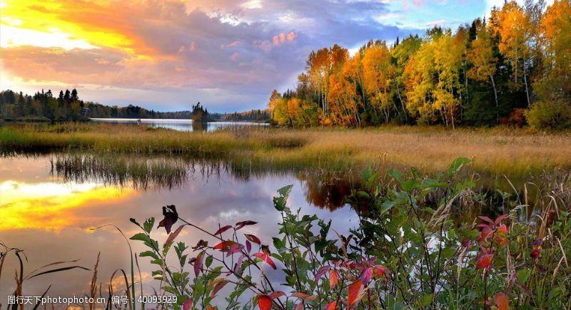 加拿大魁北克优美风景图片