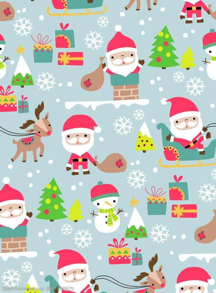 设计图案圣诞老头图片