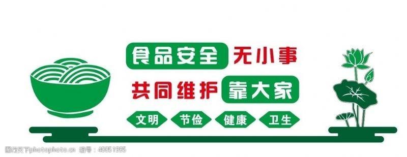 超市展板食品安全图片