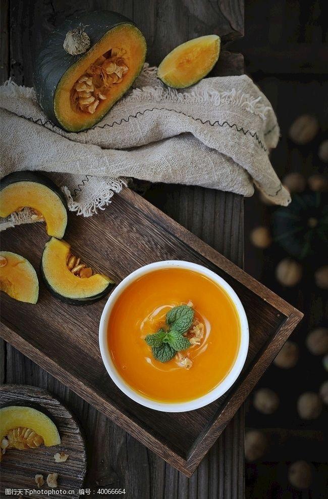 餐饮素材甜品南瓜美食摄影图片