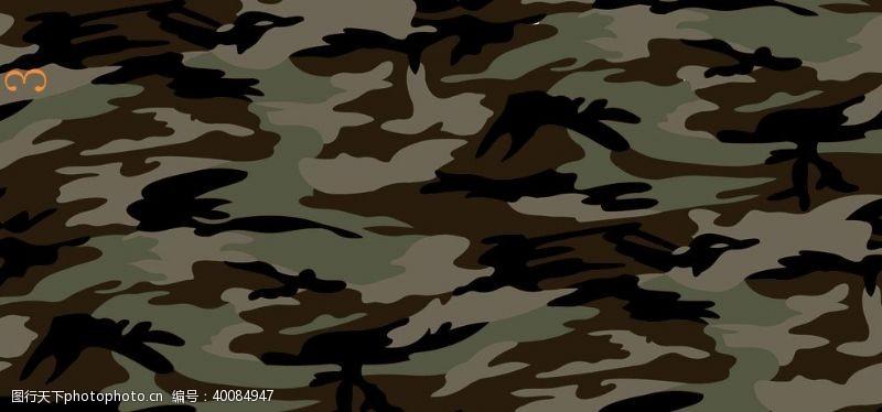 走秀豹纹迷彩图片