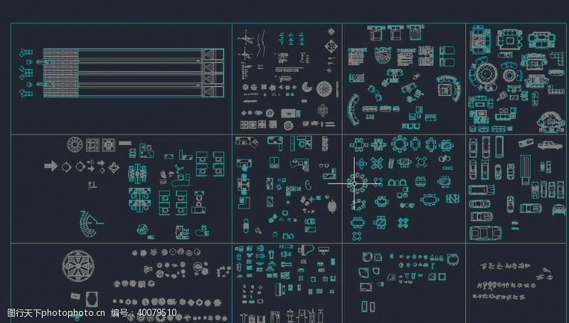设计图库CAD素材图库图片
