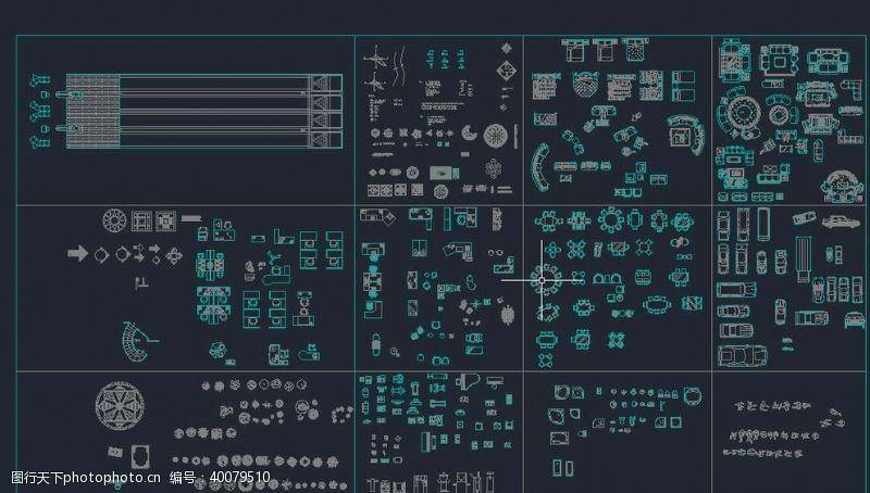 cad素材CAD素材图库图片