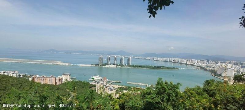 海边风景海南凤凰岛图片