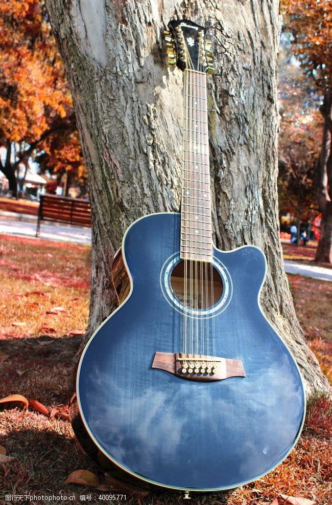 音乐乐器吉他公园图片