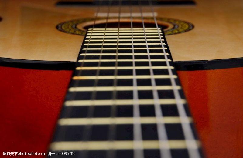 音乐乐器吉他弦图片