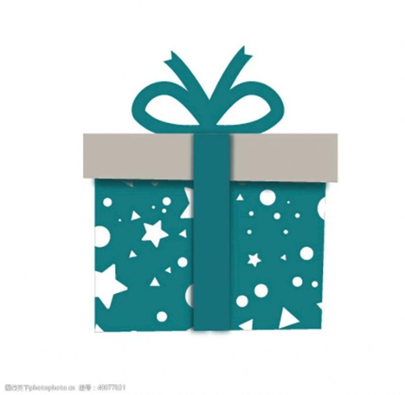 圣诞节日矢量礼盒图片