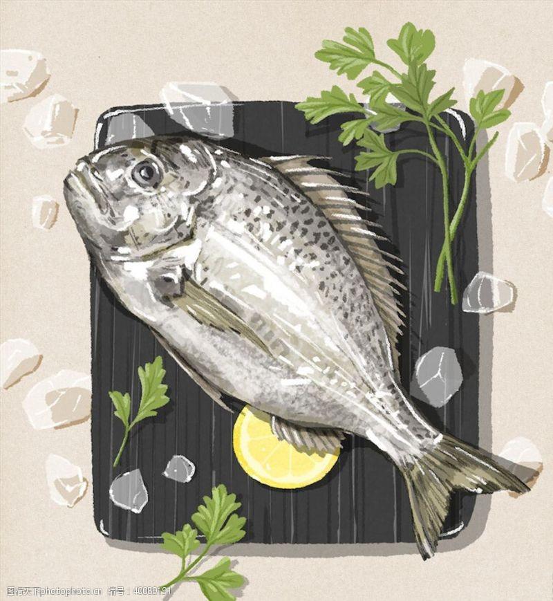 手绘蔬菜手绘食物图片