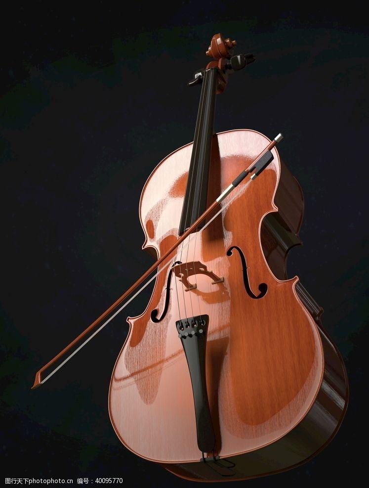 音乐乐器提琴图片