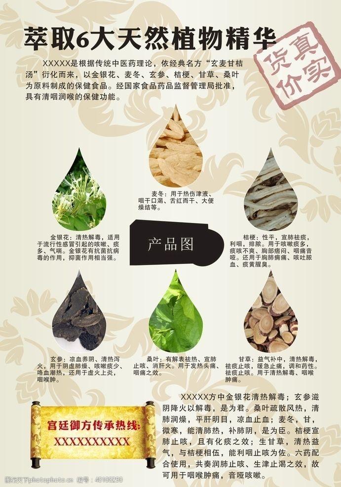 广告物料设计咽炎图片