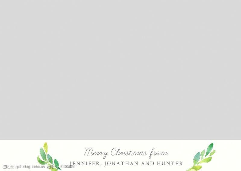 婚礼卡片宝宝相册圣诞节节日卡片模板图片