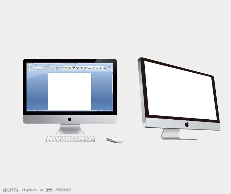 苹果电脑电脑样机图片