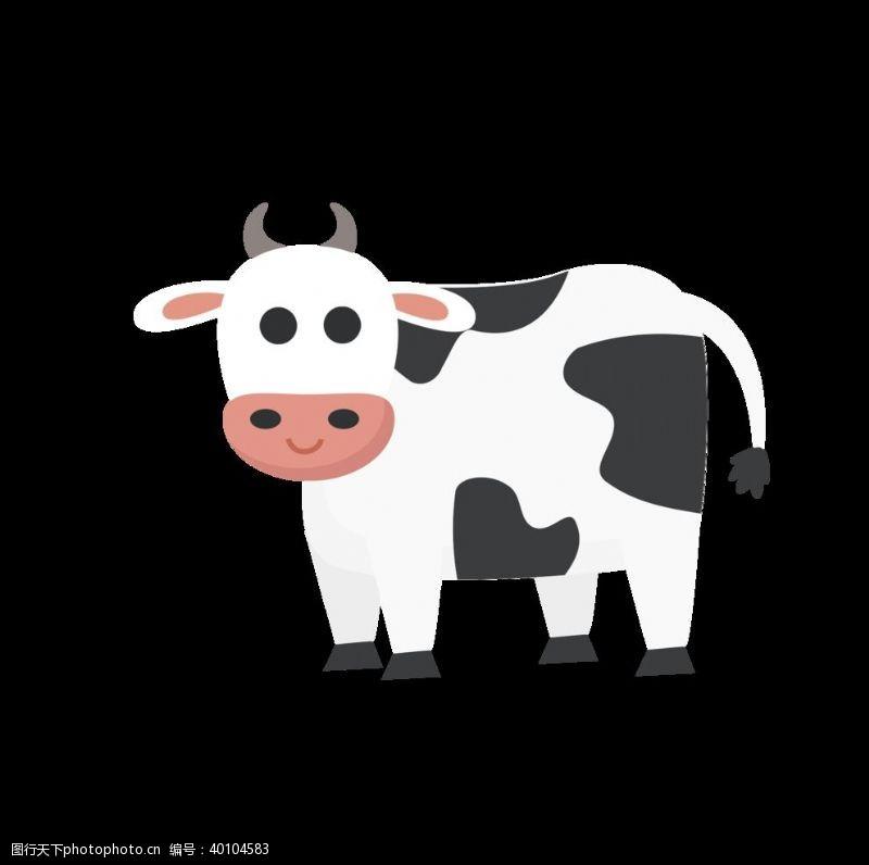 卡通奶牛奶牛图片