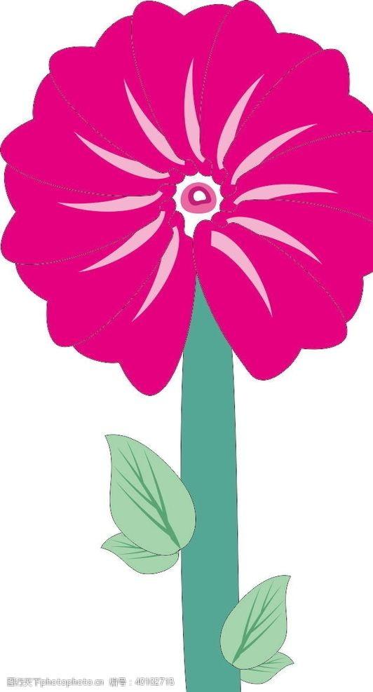 矢量花朵手绘花图片