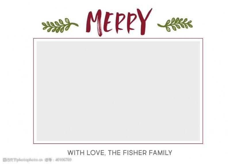 婚礼卡片相册宝宝家庭相册节卡片模板图片