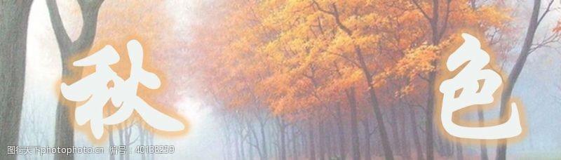 其他模板秋季色彩图片