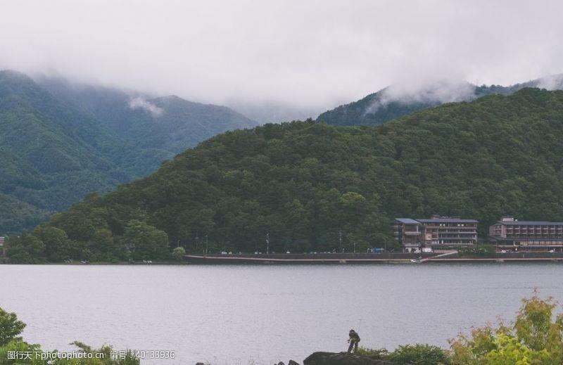 感受日本富士山图片