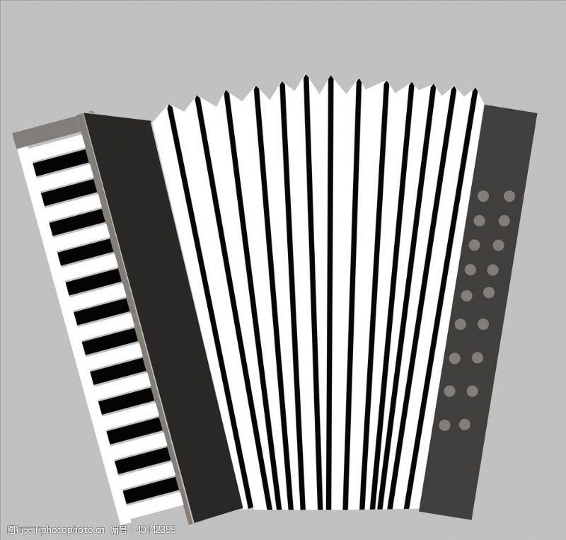 矢量手风琴图片
