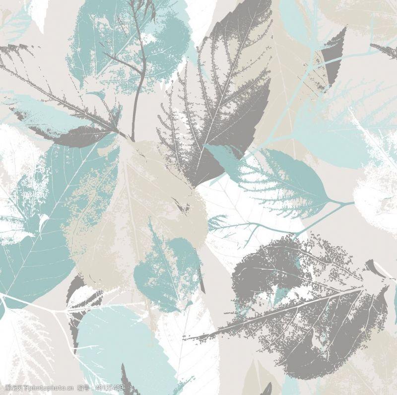 水印树叶图片
