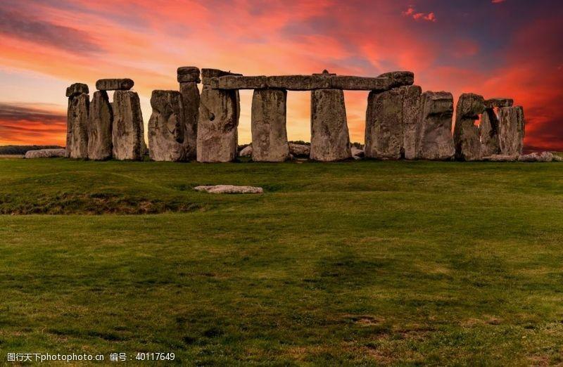 澳大利亚英国巨石阵图片