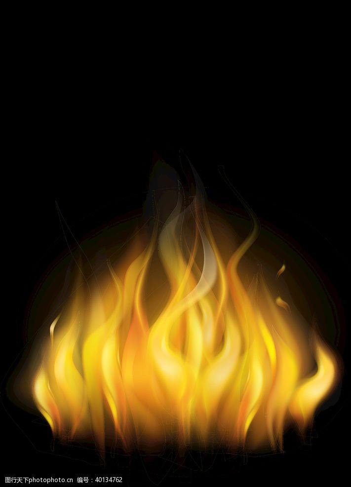 火光火苗图片
