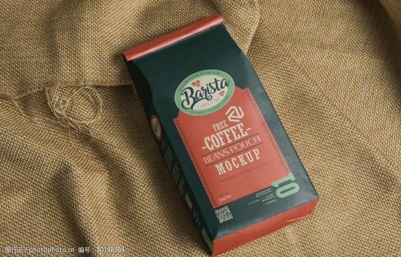 品牌咖啡咖啡豆包装图片