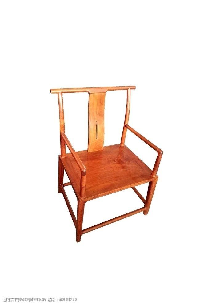 紫檀缅花宋式官帽椅图片