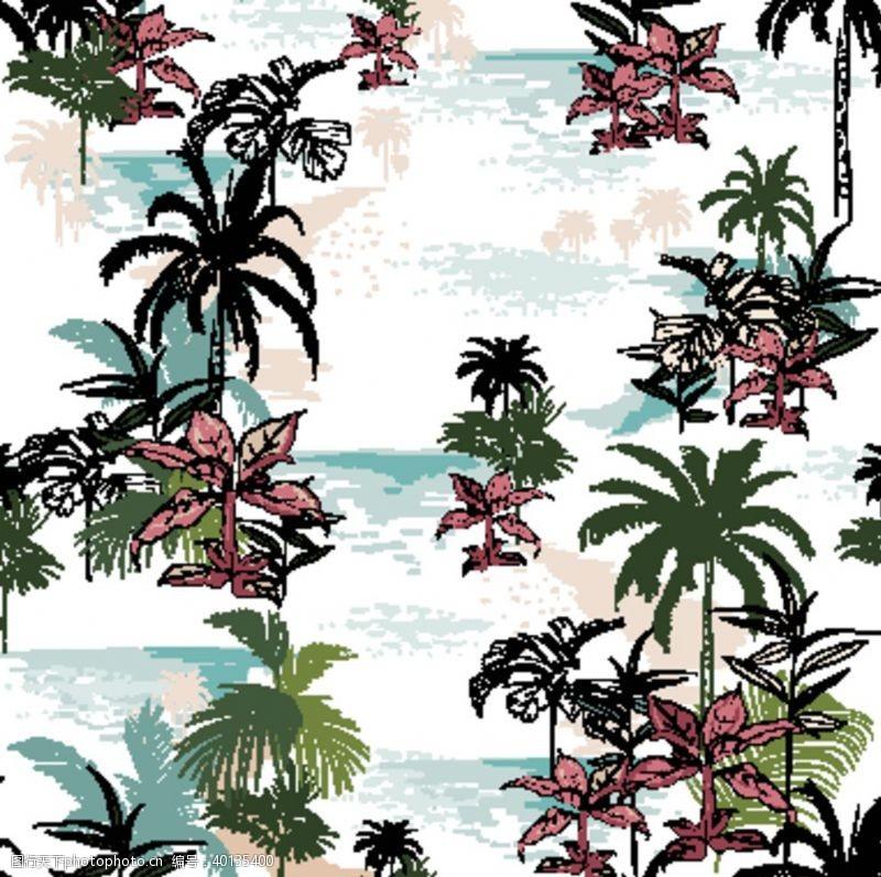 沙滩裤印花图片