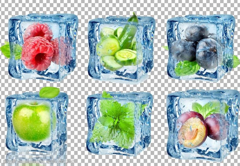 深色背景水果图片