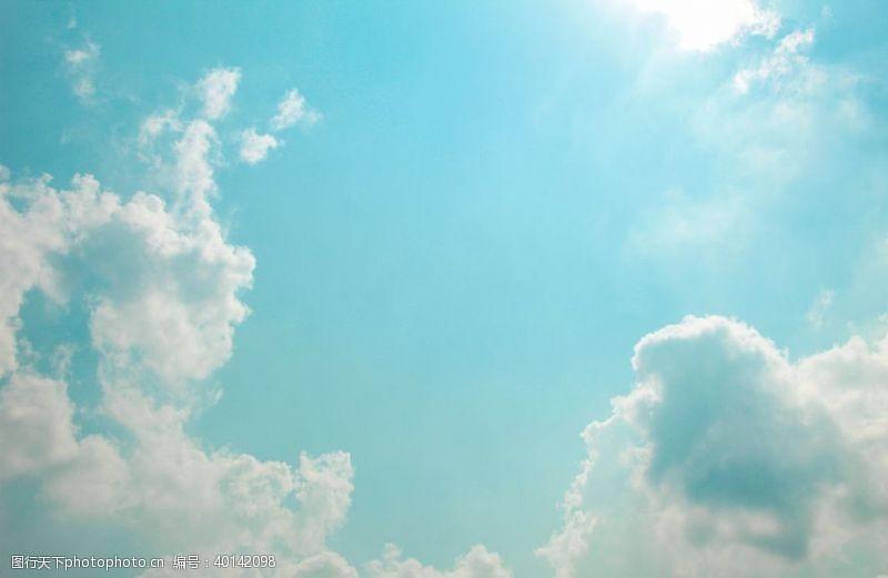 碧海蓝天天空图片