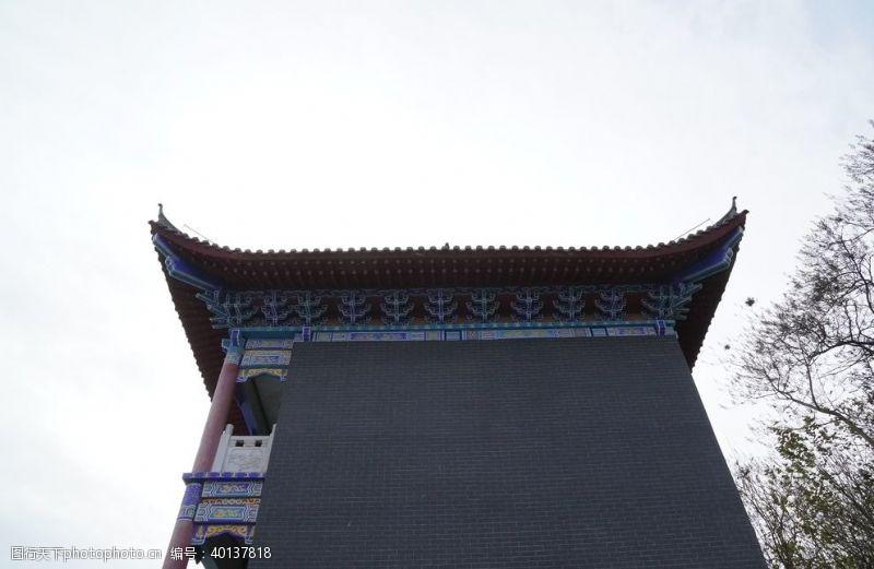 传统建筑屋檐图片