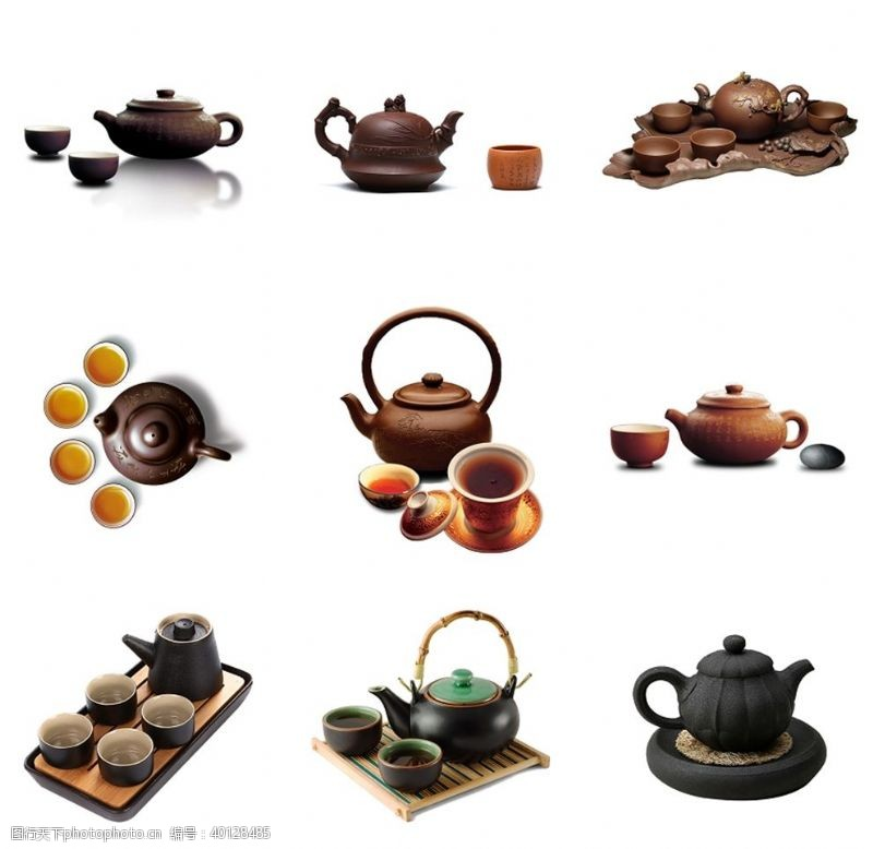 铁观音茶壶茶具茶馆素材图片