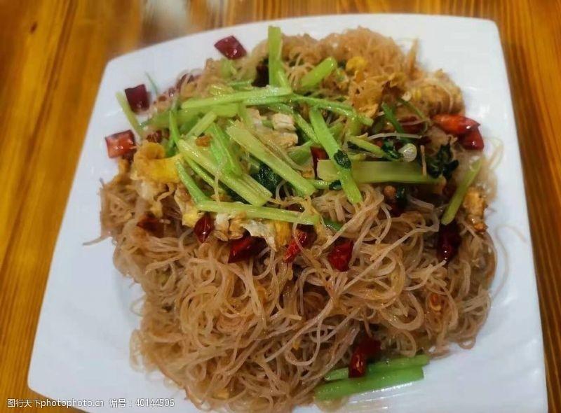炒粉炒米线图片