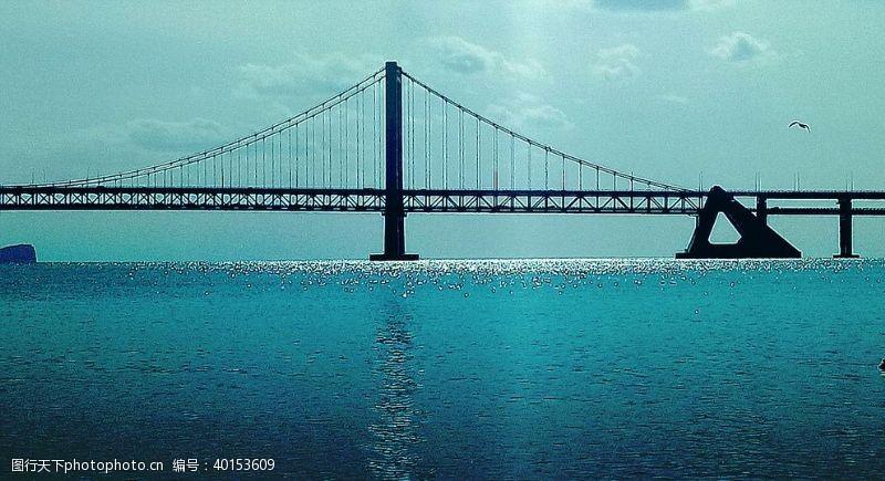 海鸥大连跨海大桥图片