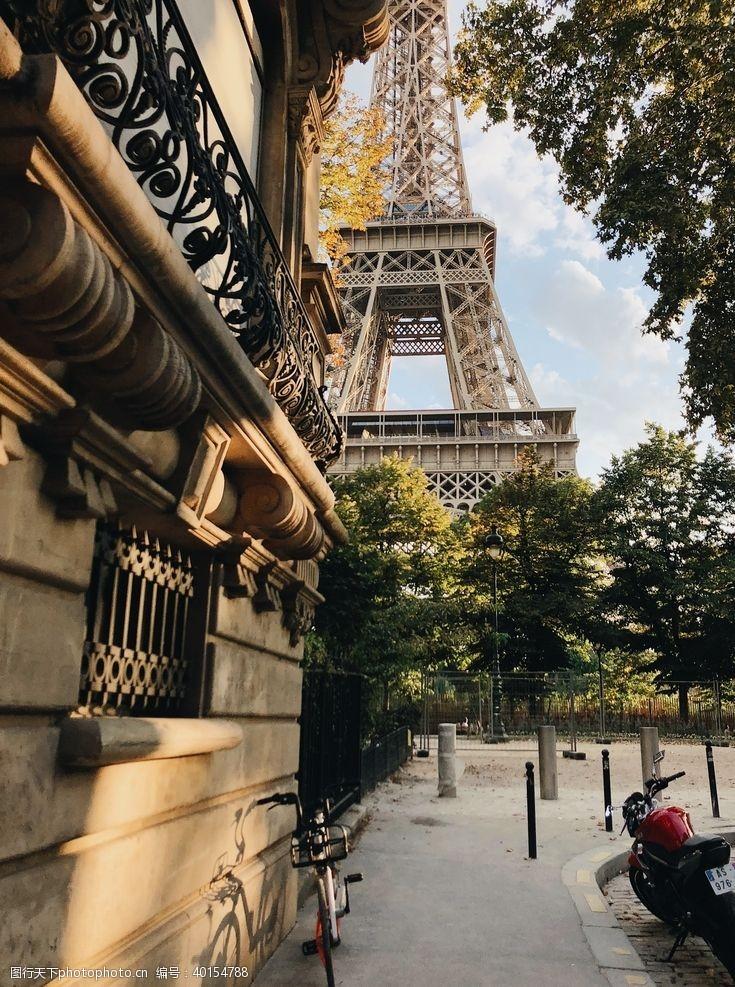 欧洲旅游法国埃菲尔图片