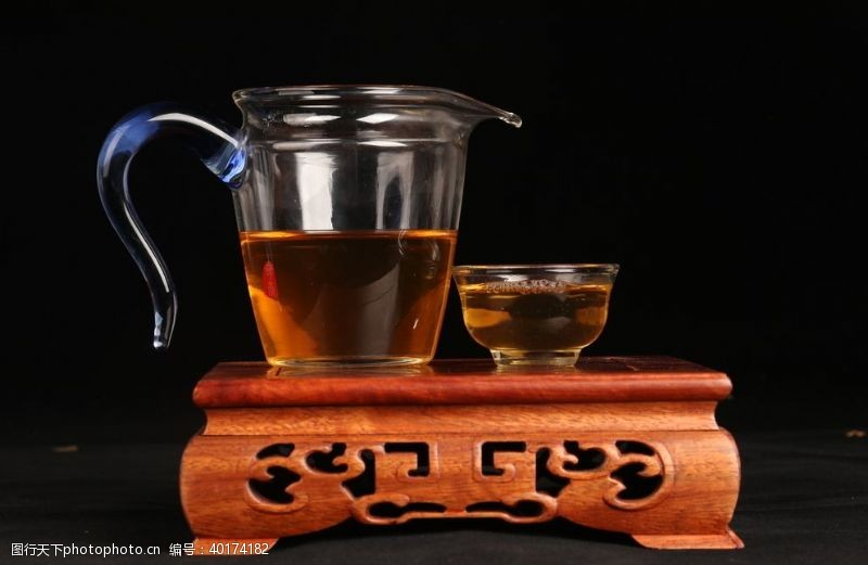 喝茶红茶茶艺图片