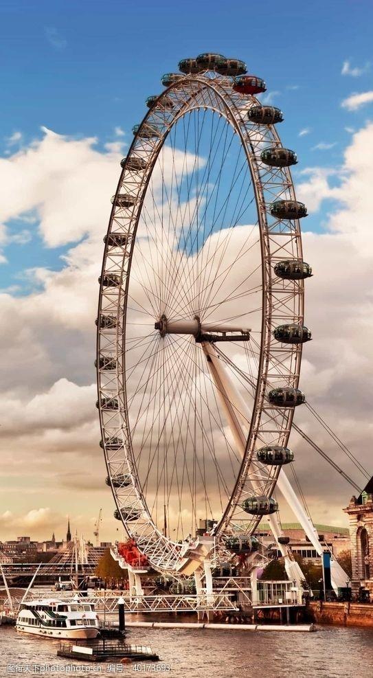 英国摩天轮图片