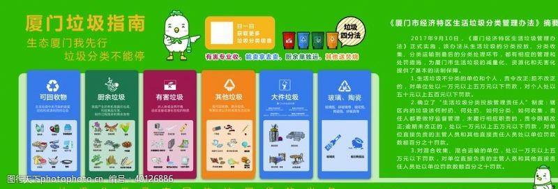 厦门绿海鸥垃圾分类图片