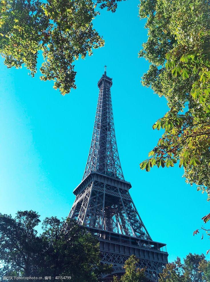 欧洲旅游巴黎埃菲尔图片