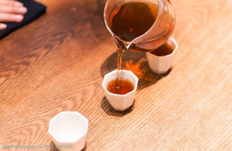 普洱茶茶艺图片