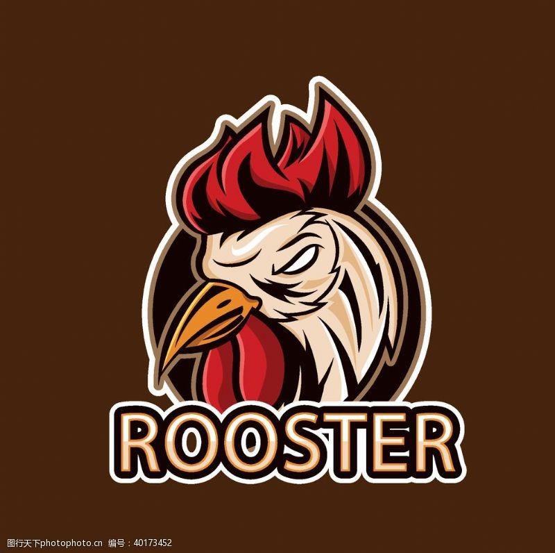 国外logo创意卡通鸡logo图片