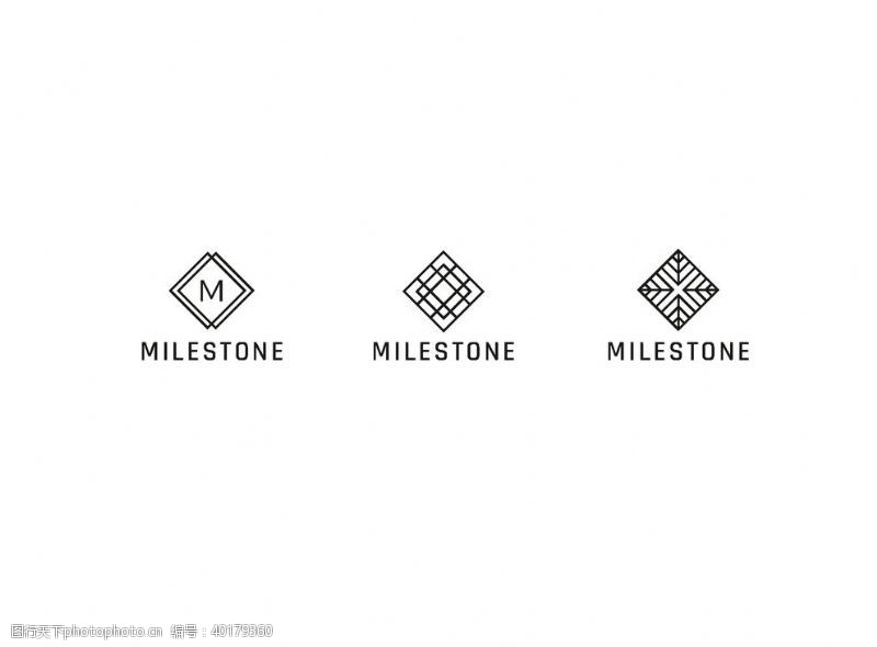 欧式标签复古logo标签图片